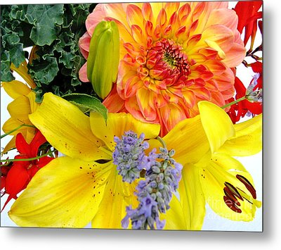 Wedding Flowers Metal Print by Rory Sagner
