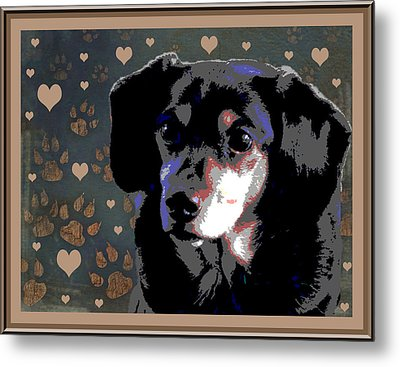 Wee With Love Metal Print by One Rude Dawg Orcutt