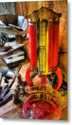 Weigh Your Goods - General Store - Vintage - Nostalgia Metal Print by Lee Dos Santos
