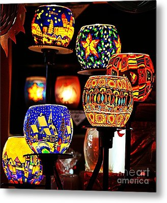 Metal Print featuring the photograph Weihnachtslichter I by Jack Torcello