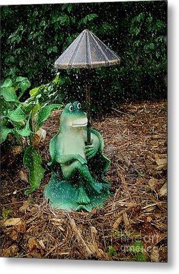 Weird Frog Metal Print