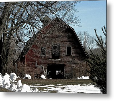 Welcome Metal Print by Bonni Belle Winter