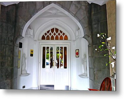 Metal Print featuring the photograph Welcome To The Manor by Charlie and Norma Brock