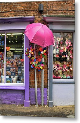 Wells-next-the-sea Gift Shops Metal Print