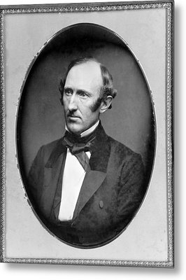 Wendell Phillips 1811-1884 American Metal Print by Everett