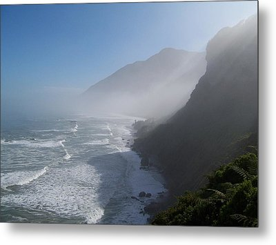Metal Print featuring the photograph West Coast- South Island by Peter Mooyman