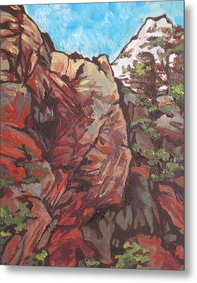 West Fork Metal Print by Sandy Tracey