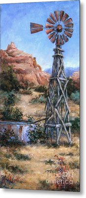 West Texas And Beyond Metal Print