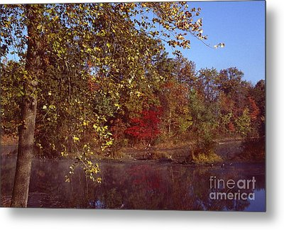 Metal Print featuring the photograph West Twin Pit by Jack R Brock