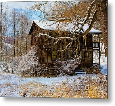 West Virginia Winter Metal Print