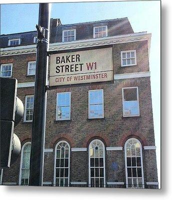 #westminster #bakerstreet #baker Metal Print by Abdelrahman Alawwad