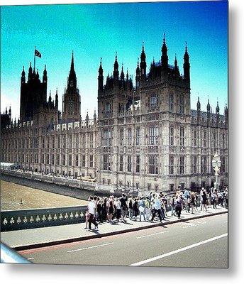 Westminster, London 2012 | #london Metal Print by Abdelrahman Alawwad