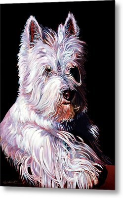 Westy Metal Print by Bob Coonts