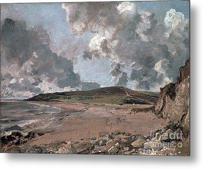 Weymouth Bay With Jordan Hill Metal Print by John Constable
