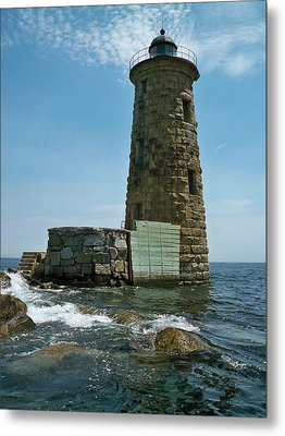 Whaleback Light Metal Print by Rick Frost