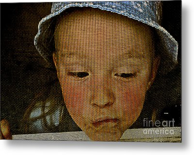 What All Kids Do Metal Print by Aimelle