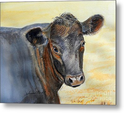 What Color Cocoa Metal Print by Susan  Clark