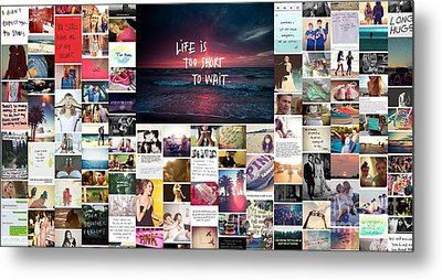 Metal Print featuring the photograph What Is Life To You by Holley Jacobs