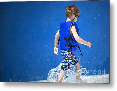 What Life Is All About Metal Print by Gwyn Newcombe