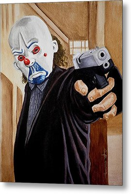 Whatever Doesn't Kill You Simply Makes You Stranger Metal Print by Al  Molina