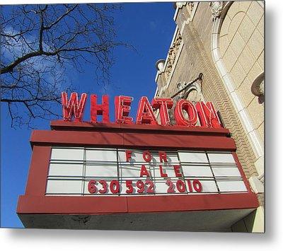 Wheaton Theatre Metal Print by Todd Sherlock