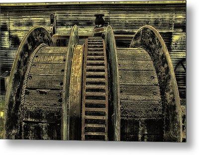 Wheel Of Industry Metal Print by John Monteath
