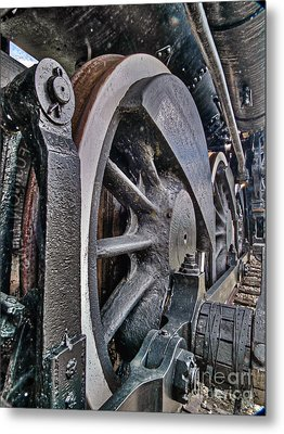 Wheels Of Steel Metal Print