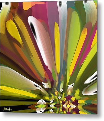 When Spring Turns To Fall Metal Print