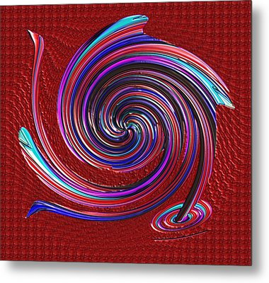 Metal Print featuring the digital art When The Stirring Stops by Alec Drake