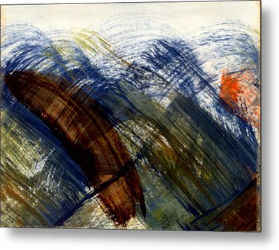 When The Sun Doth Light A Storm Metal Print by Kimanthi Toure