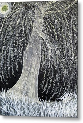 When Willows Weep Metal Print