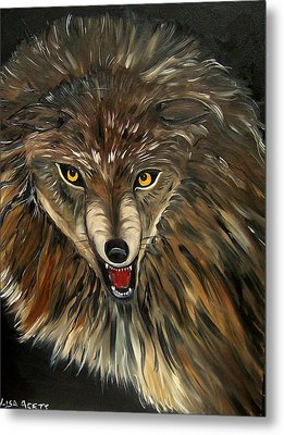 Wheres The Wolf Metal Print