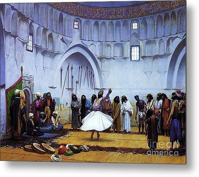 Whirling Dervishes Metal Print by Pg Reproductions