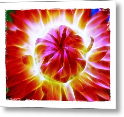 Metal Print featuring the photograph Whirling by Judi Bagwell