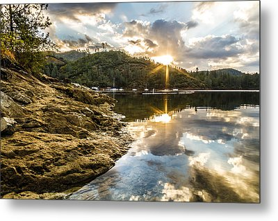 Metal Print featuring the photograph Whiskeytown Lake Sunrise by Randy Wood