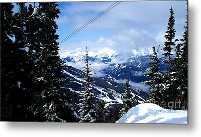 Whistler View  2 Metal Print by Tanya  Searcy