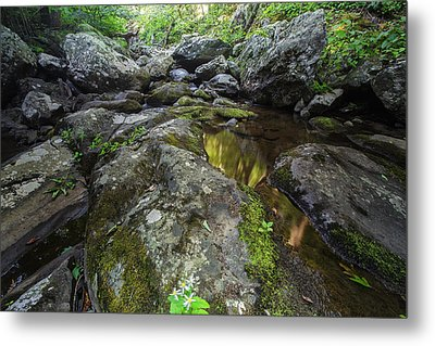 White Oak Creek Metal Print by Rick Berk