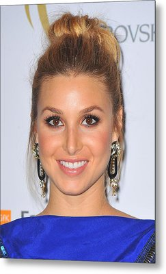 Whitney Port At Arrivals For The 2nd Metal Print by Everett