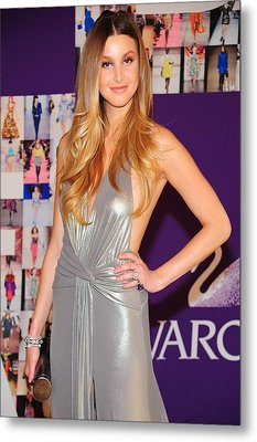 Whitney Port Wearing David Meister Metal Print by Everett