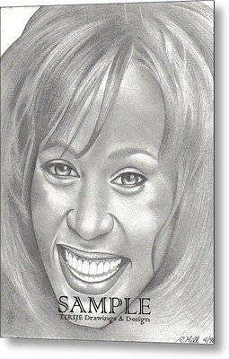 Whitney Metal Print by Rick Hill