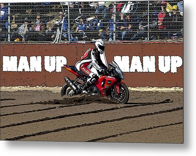 Who Needs A Dirt Bike Metal Print by Serene Maisey