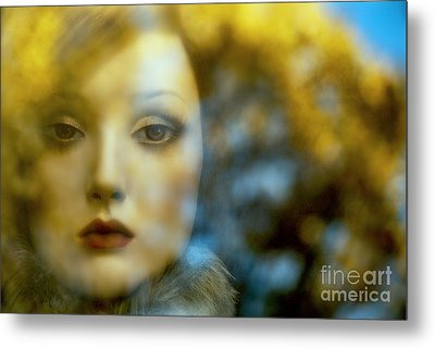 Metal Print featuring the digital art Why Do I Love You Doll? by Rosa Cobos