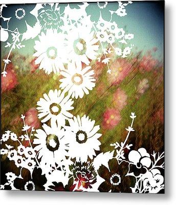 Wild Flowers Metal Print by Jenene Chesbrough