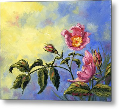 Wild Rose Metal Print by Kurt Jacobson