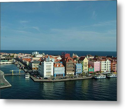 Willemstad Curacao Metal Print by Gary Wonning