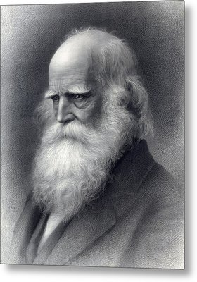 William Cullen Bryant 1794-1878 Was An Metal Print