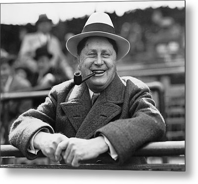 William Wrigley, 1861-1932, President Metal Print by Everett