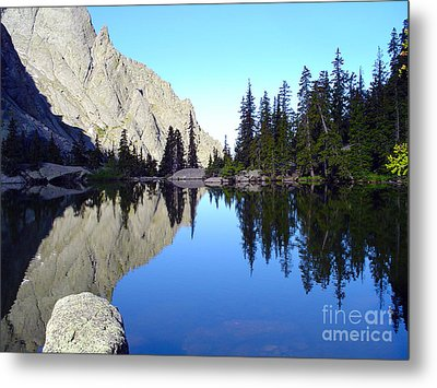 Willow Lake Afternoon Metal Print by Scotts Scapes