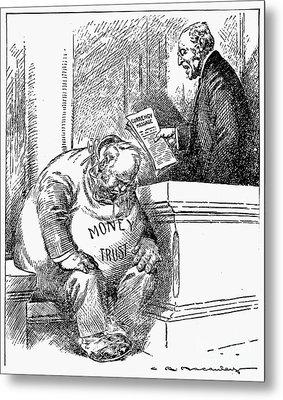 Wilson Cartoon, 1913 Metal Print by Granger