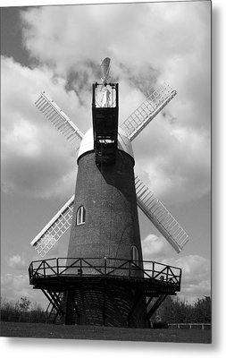 Wilton Windmill Metal Print by Michael Standen Smith